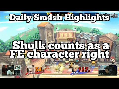 Daily Sm4sh Highlights: Shulk counts as a FE character right