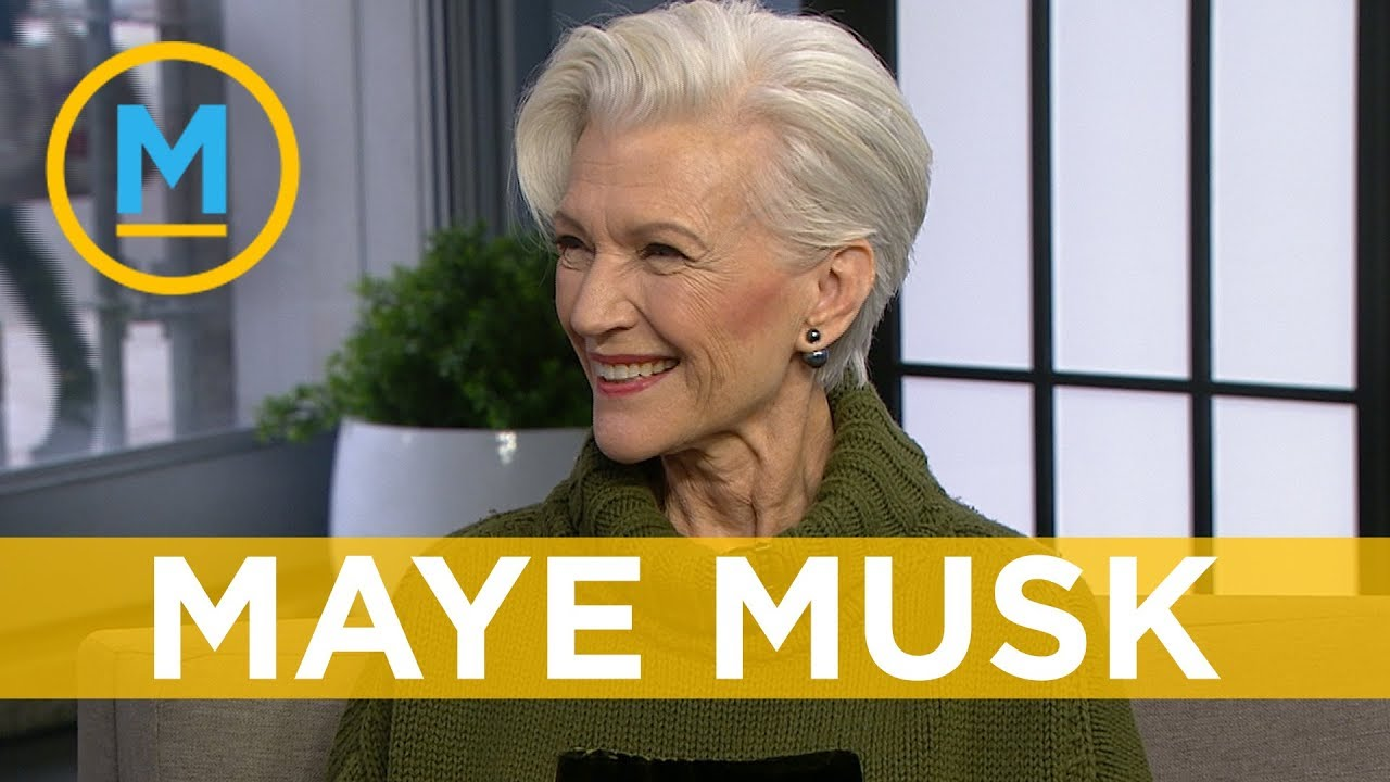 Maye Musk, Elon Musk's mother, makes history as the new face of CoverGirl  at 69 | Your Morning