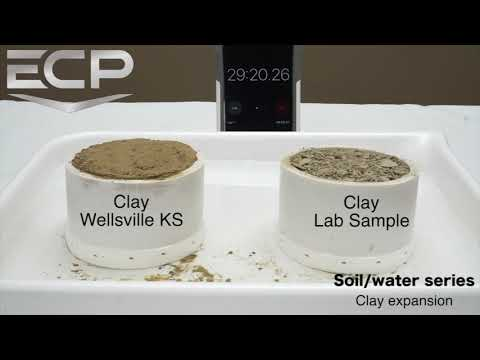 Clay Expansion Test W/ ECP's PE