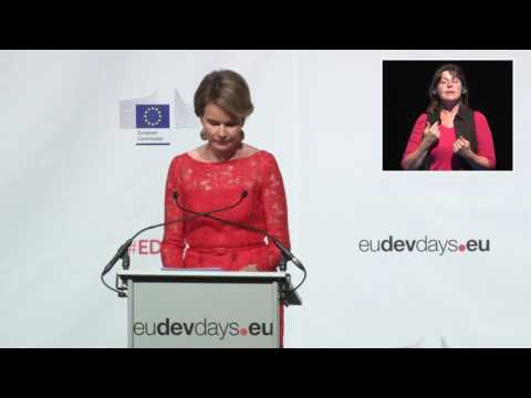 EDD16 - Buzz -  Her majesty Mathilde, Queen of the Belgians