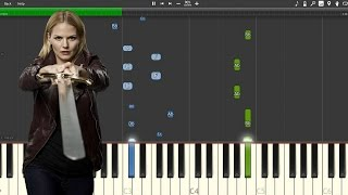 """""""Emma's Theme"""" - Once Upon A Time [Piano Tutorial] (Synthesia)"""