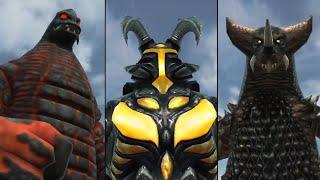 【EX3兄弟、3連戦】EXゴモラ・EXゼットン・EXレッドキング『EX超振動波』『トリリオンメテオ』『フレイムロード』【ウルトラ怪獣バトルブリーダーズ】Ultraman◆ウルトラマン