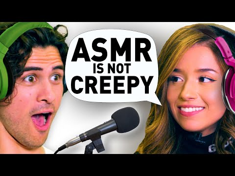 I spent a day with FAMOUS ASMRtists (ft. Pokimane, Gibi ASMR & Matty Tingles)