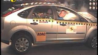 Ford Focus 1,2,3 Crash test