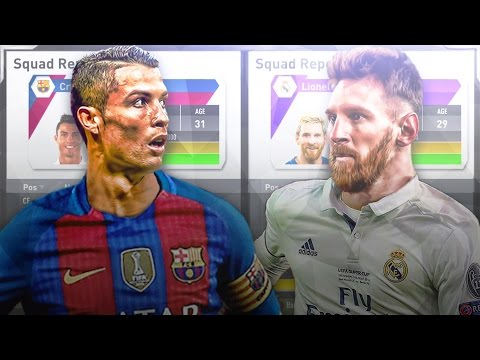 Cristiano Ronaldo and Lionel Messi Trading Places in FIFA 17 Career Mode