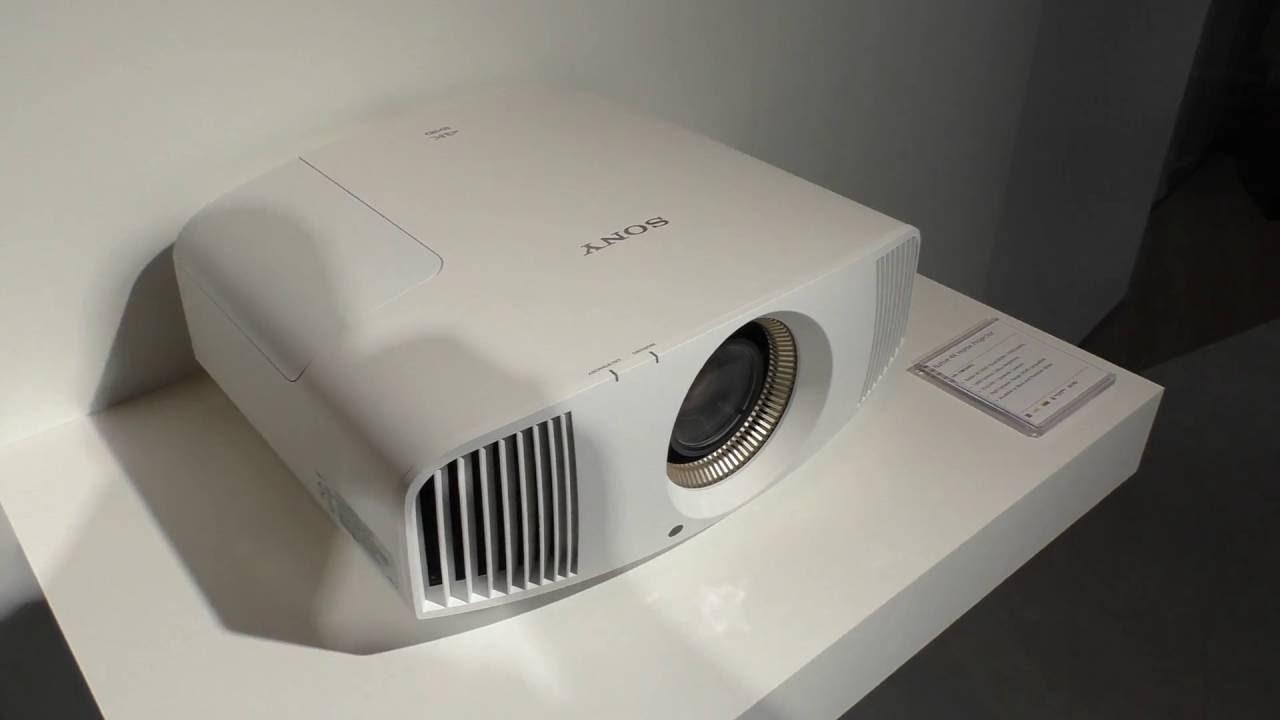 sony vpl vw550es 4k projektor beamer ifa 2016 youtube. Black Bedroom Furniture Sets. Home Design Ideas