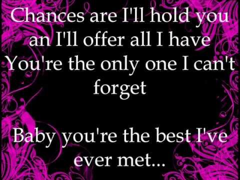 Vonda Shepard & Robert Downey Jr Chances Are with Lyrics