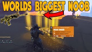 Worlds Biggest Noob Scammer Scammed Himself (Scammer Gets Scammed) Fortnite Save The World