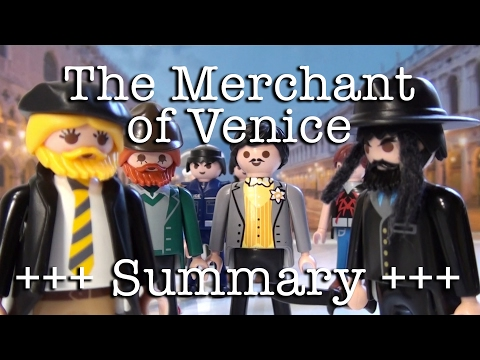 The Merchant of Venice to go (Shakespeare in 9.5 minutes)