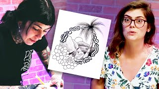 Tattoo Artist Vs. Tattoo Artist: Nature Tattoo