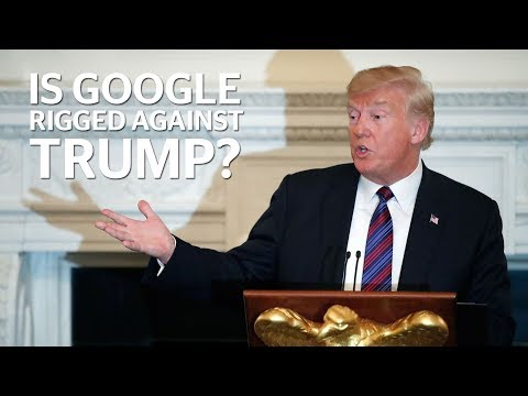Trump news: Is Google really rigging its algorithm to make the president look bad?