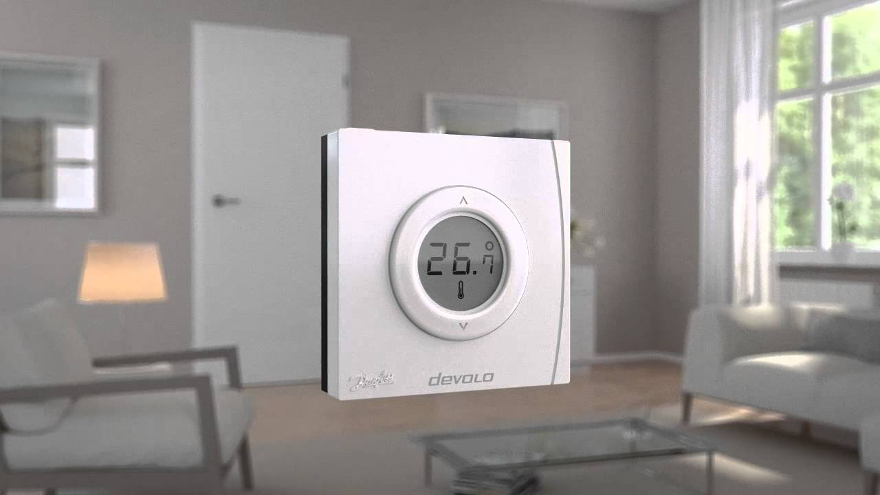 Extrem Home Control - Raumthermostat - YouTube DP22