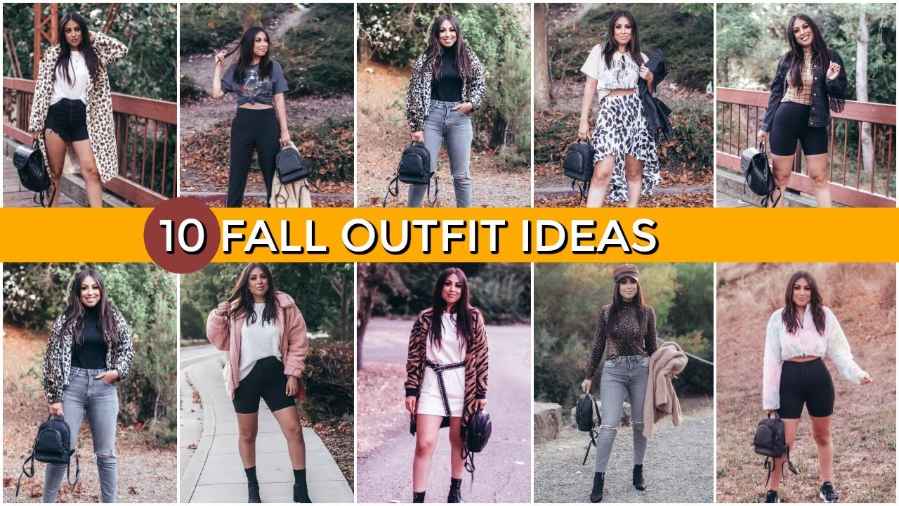 [VIDEO] - 10 FALL 2019 OUTFIT IDEAS: AFFORDABLE AND TRENDY 7