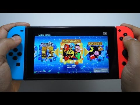 NAMCO MUSEUM ARCADE PAC (testing All Games) - Nintendo Switch Gameplay