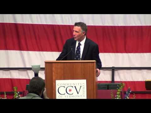 Vermont Lieutenant Governor Phil Scott Commencement Address