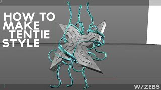 How to make Tenti Style[1/2]| w/ Zebs