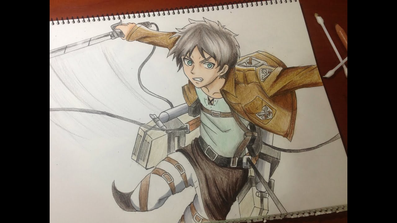 Eren jaeger drawing - photo#51