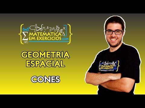 Geometria Espacial - Aula 5 - Cones - Prof. Gui