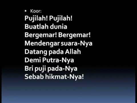 #98 Terpujilah Allah - To God be the Glory