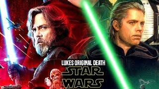 Star Wars! Luke's Original Death Revealed & Explained!