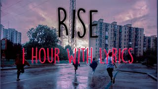 Rise Jonas Blue ft Jack Jack 1 hora 1 hour Loop With lyrics