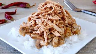 Нежный салат с курицей и грибами. Рецепты салатов на каждый день.