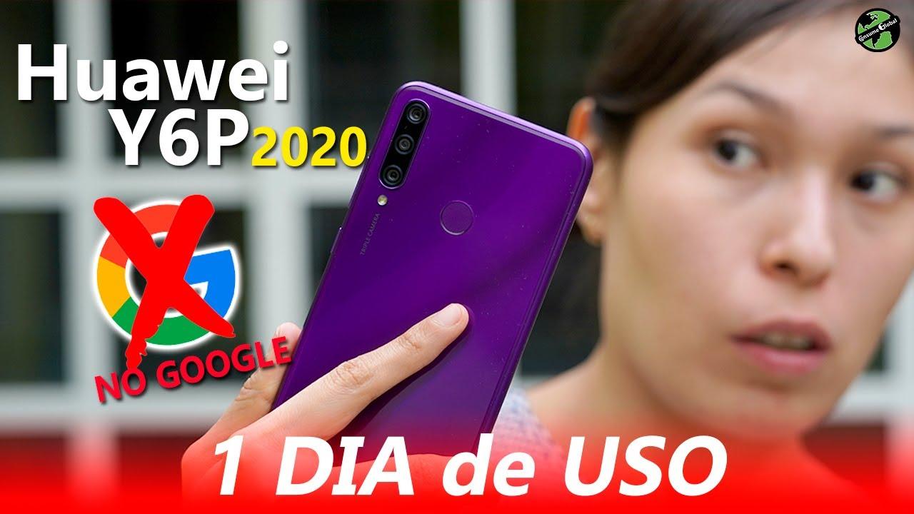 1 DIA DE USO Huawei Y6P 2020 SIN GOOGLE | consume Global
