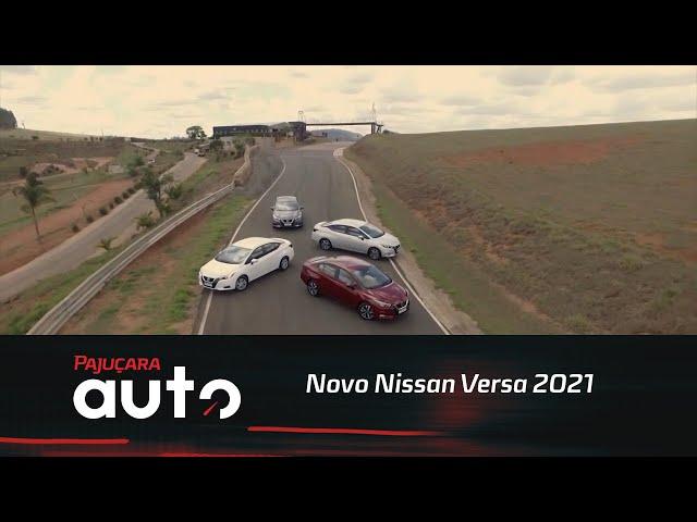 Lançamento: Confira o novo Nissan Versa 2021 em vídeo e fotos