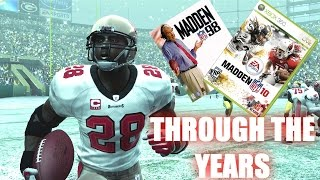 WARRICK DUNN THROUGH THE YEARS! MADDEN 98 - MADDEN 10