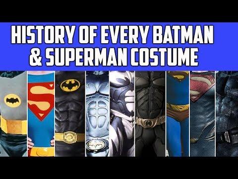 Justice League: A History of Batman & Superman's Costumes