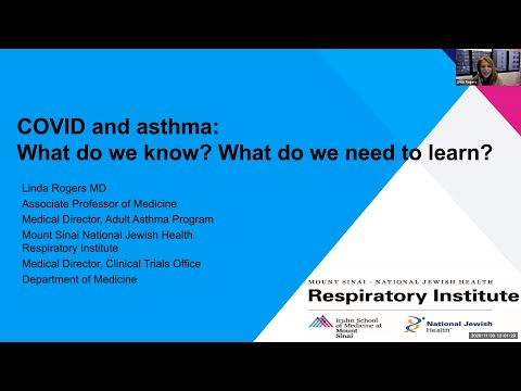 COVID And Asthma: What Do We Know? What Do We Need To Learn?