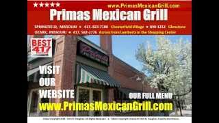 Primas Mexican Grill Springfield MO   Voted Best Mexican Restaurant