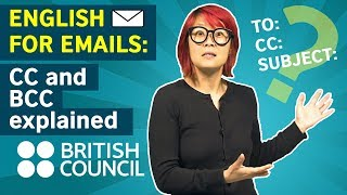English for Emails: Cc and Bcc explained