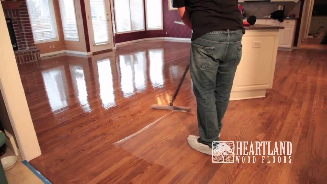 Heartland Wood Floors Refinish Video - Heartland Wood Floors Refinish Video - YouTube
