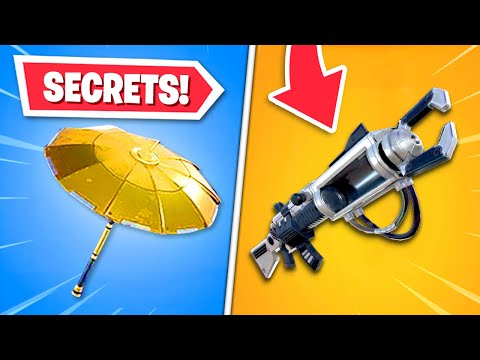 Top 8 SECRET Items In Fortnite!