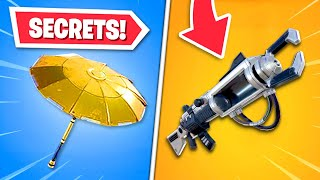 Top 8 SECRETS in Fortnite!