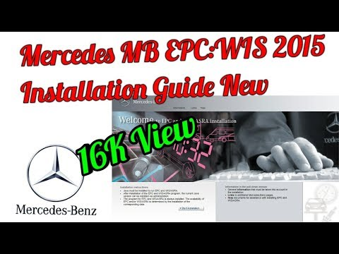 Mercedes Benz (M B) WIS 2015 Installation By Mr. AllNew (Anuj Pal)