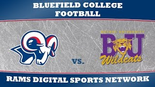 Livestream: Bethel (Tenn.) vs. Bluefield - Football - Oct 4 - 130pm