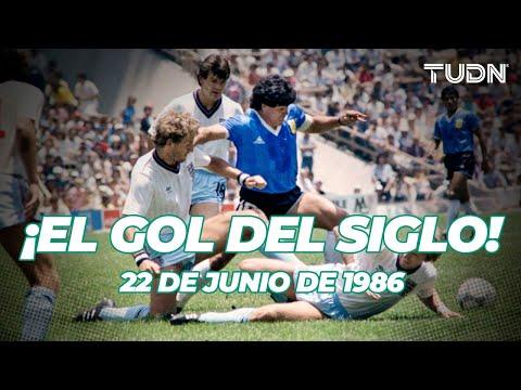 ¡EL GOL DEL SIGLO! Maradona y el mejor gol en la historia de los Mundiales I TUDN