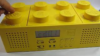 Lego Portable CD Player With AM/FM Radio Yellow Brick