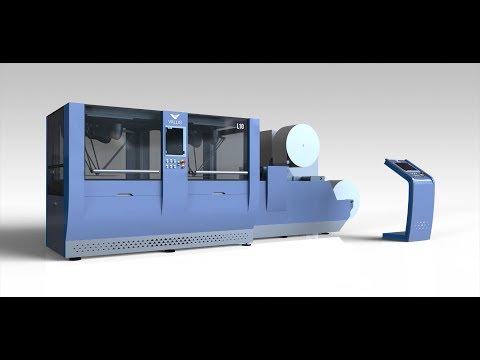 Vallis L10 -  high-end machine for production of IML labels