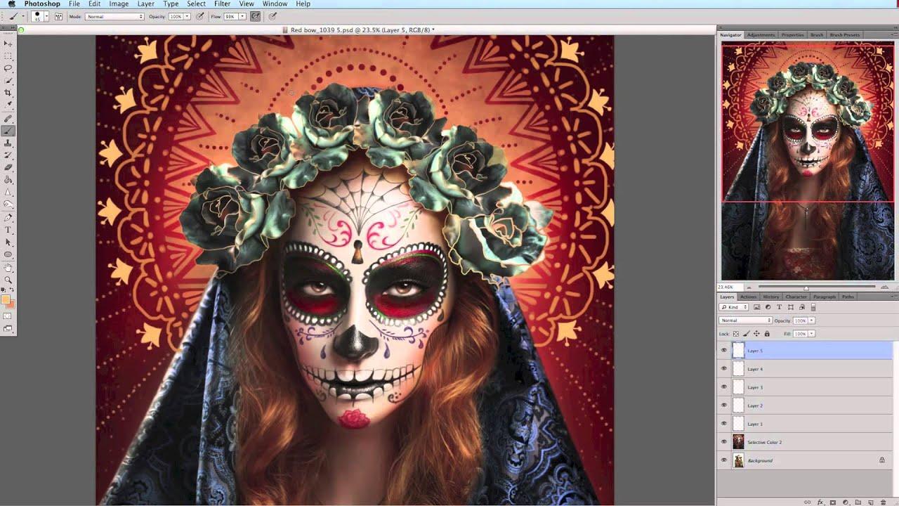 Sugar Skull Wallpaper Hd D 237 A De Los Muertos The Making Of The Sugar Skull Image 2