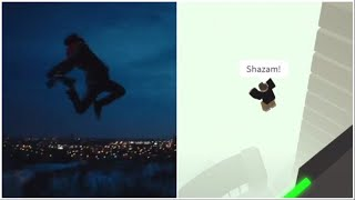 Shazam! Transformationsszene IN ROBLOX