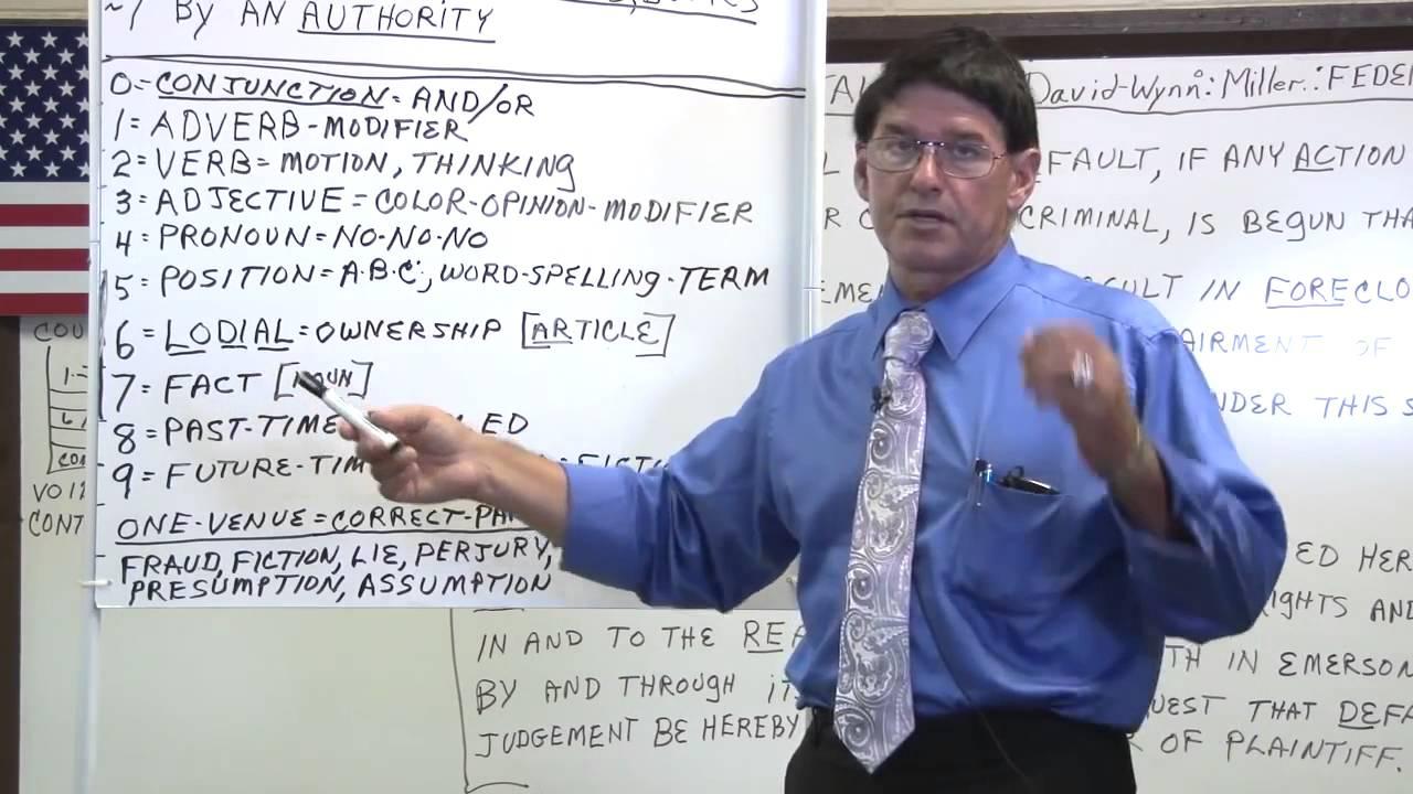 "The STRAW MAN ""Explained"" :David-Wynn: Miller"