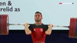 2016 European Weightlifting Championships, Men 62 kg  Тяжелая Атлетика. Чемпионат Европы(, 2016-04-11T19:19:13.000Z)