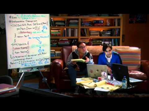 The Big Bang Theory - Sheldon playing the Theremin