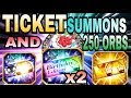 Bleach Brave Souls Tickets Summons, Four 5 Stars