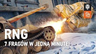 RNG. 7 fragów w jedną minutę! [World of Tanks Polska]