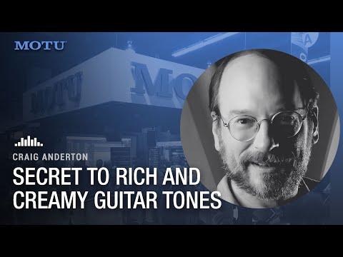 Craig Anderton's secret sauce for rich and creamy guitar tone