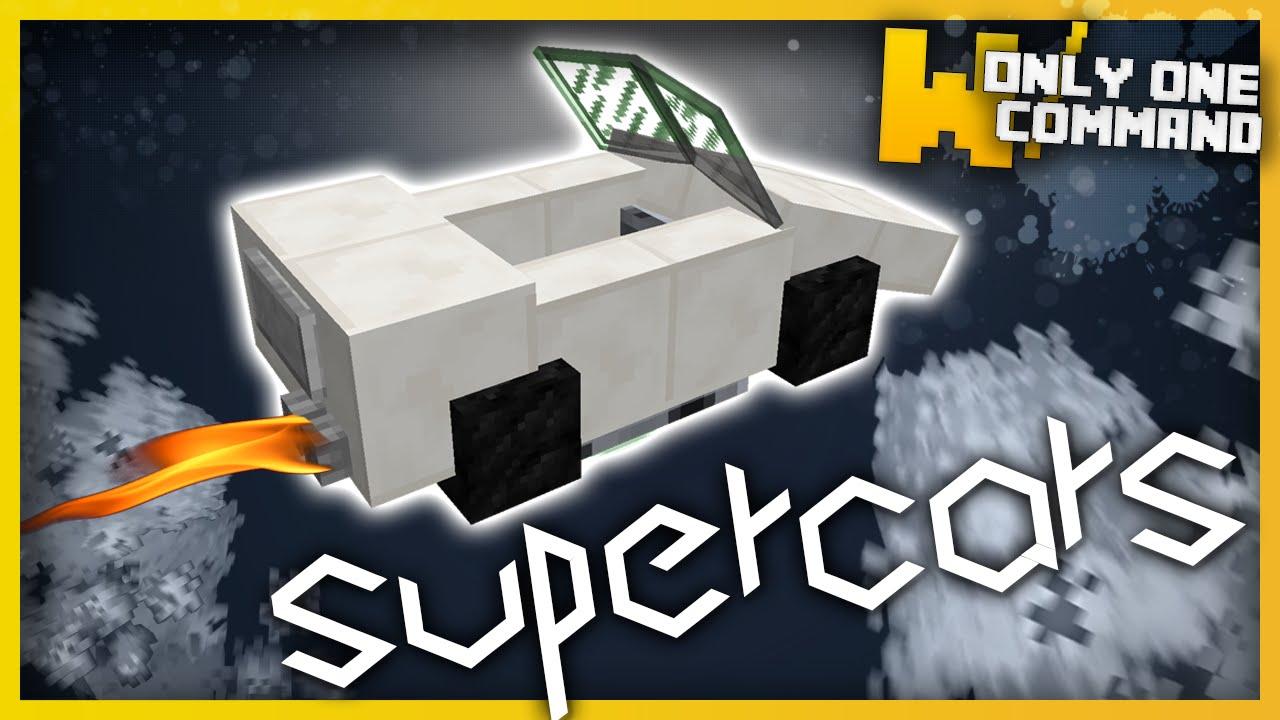Minecraft Cool Command Block Commands Auto Buildings